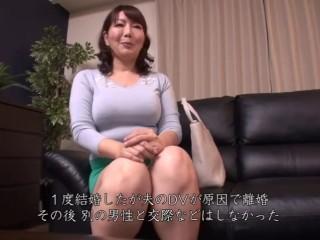 【さち子さん(仮) 45歳】訳あって男性との交わりを避けてきた応募素人熟女
