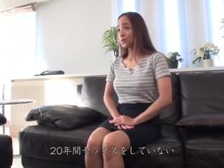 【リオさん(仮) 40歳】訳あって男性との交わりを避けてきた応募素人熟女